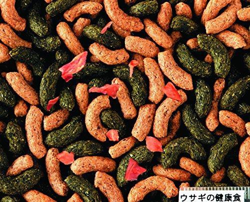 1日あたりうさぎが食べるペレットの量の計算。食べないときの原因と対処法